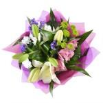 Букет «Пурпурное сияние»