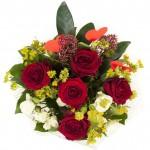 Букет «Цветочное кружево»