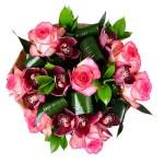 Букет «Розовый фламинго»