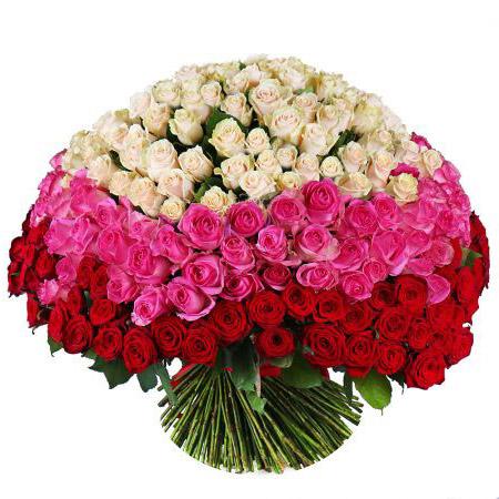 303 розы ассорти
