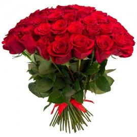 81 красная роза