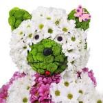 Игрушка из цветов «Котёнок»