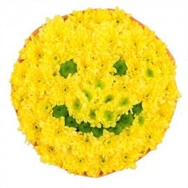 Игрушка из цветов «Смайл»