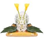 Игрушка из цветов «Улитка»