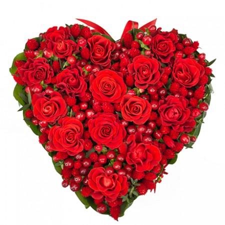 Композиция «Любящее сердце»