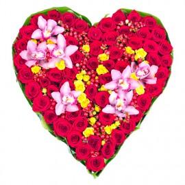 Композиция «Любовь от сердца»