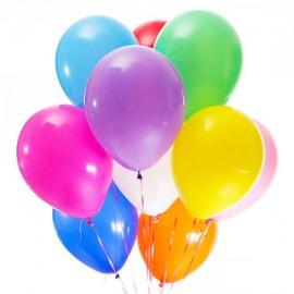 11 цветных шариков